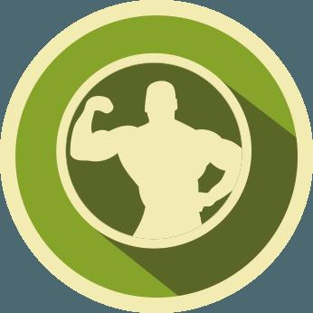 Icona Aumentare la Massa Muscolare