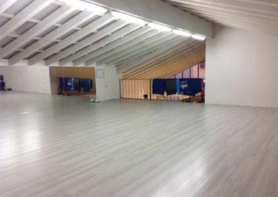Panoramica della Sala Superiore per i corsi di gruppo